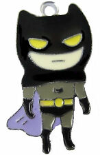 Batman Boy charm pendant necklace cartoon style Heavy Chain