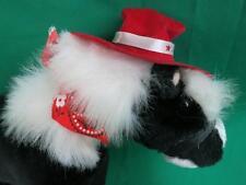 AUSTIN TEXAS BLACK WHITE HORSE RED BANDANNA COWBOY HAT SOUVENIR PLUSH STUFFED AN