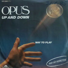 """7"""" 1984 AUSTROPOP RARE PROMO MINT- ! OPUS : Up And Down"""