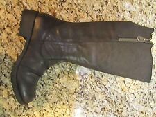 NEW MIA CIERRA BLACK HIGH TALL RIDING BOOTS WOMENS 9 KNEE HIGH ZIP SIDE