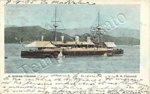 Regia Marina - Pirofregata Ettore Fieramosca - 1905