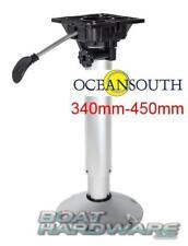 Adjustable Boat Seat Pedestal Aluminium 340mm - 450mm