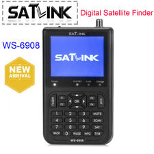 Satlink WS-6908 Digital Satellite Finder Meter FTA LNB DIRECTV Signal Pointer UK
