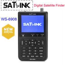 Satlink WS-6908 buscador de satélite digital Medidor Fta Lnb Directv señal puntero UK