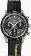 326.32.40.50.06.001 Omega Speedmaster Racing Mens Watch Auto Black Rubber Strap