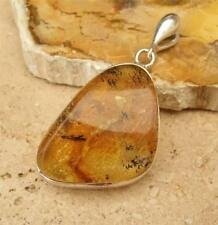 Handmade Natural Amber Sterling Silver Fine Jewellery