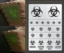 Biohazard Airbrush Stencil Terrain Vehicle Schablonen Maskierung Gestaltung