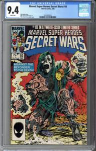 Marvel Super Heroes Secret Wars #10 CGC 9.4