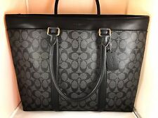 NWT COACH MEN'S PERRY BUSINESS TOTE IN SIGNATURE STYLE: F54799