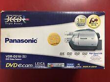 Panasonic VDR-D310 Camcorder - Silver