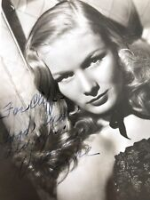 Veronica Lake 1940s Authentic Autograph PSA/DNA Certified with COA