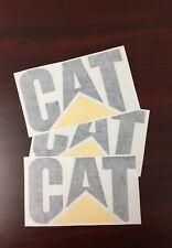 3  CATERPILLAR Quality Vinyl  Decals 12''x8'' Sticker