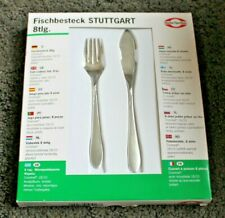 Fischbesteck 8 Piece Fish Cutlery Set * Brand New & Boxed