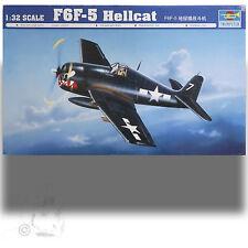 TRUMPETER 1/32 GRUMMAN F6F-5 HELLCAT KIT OVER 360 PARTS * DECALS 1944 PAPER DOLL