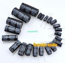100V 1UF ~ 470UF promesa Condensador Electrolítico Condensador Audio Divisor Audio parte