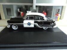 Oxford 1954  PONTIAC CHIEFTAIN California Highway Patrol  CHP 1/87  HO  diecast