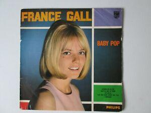 """Rare 33tours FRANCE GALL """" Baby Pop""""  1966 p 70.326 L.V.détails"""