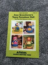 JEAN GREENHOWE TOPSY-TURNABOUT DOLLS  KNITTING PATTERN BOOKLET