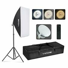 Softbox Photography Lighting Kit Professional Photo 1 Softbox with LED Bulb