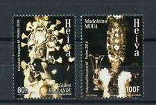 French Polynesia 2016 MNH Heiva Festival Madeleine Moua 2v Set Dance Stamps