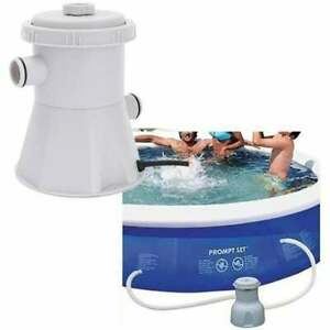 Pool Pumps Easy Set Above Ground Cartridge Filter Swimming Pool Pump System
