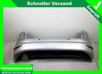 VW Golf VII Sportsvan AM1 Stoßstange Stoßfänger Hinten für PDC Silber LA7W