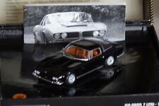 ISO Grifo 7 LTR. 1968 Black In Folding Box 1:43 Minichamps 436128222 NEW & OVP