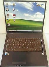 Laptop Notebook Computer aus Vollmilch Schokolade