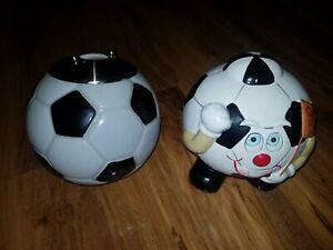 Football Light Shade & Moneybox (Boys Room)