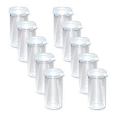 10 kleine Probengläser 5ml Gewürzgläser Gläser mit Deckel Probenglas Minigläser
