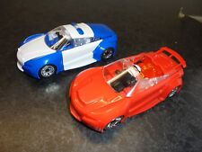 Scalextric Crash and Bash pair  Cops n robbers 1/32 scale slot cars