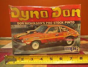 "NOS RARE MPC #1-1760  "" DYNO DON ""  NICHOLSON'S PRO STOCK PINTO-FACTORY SEALED"