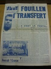 06/06/1958 World Cup 1958: French Weekly Football Magazine 'Shot' - Previewing T