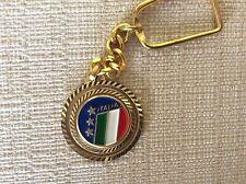 PORTACHIAVI SMALTATO 1982 NAZIONALE F.I.G.C. CALCIO MONDIALI - ROTONDO