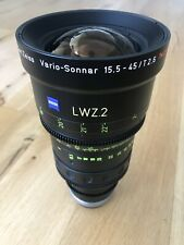 FACTORY REFURBISHED Zeiss LWZ.2 15.5-45mm T2.6 EF/PL s35 komodo bmpcc6k aps-c