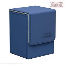 Ultimate Guard FLIP DECK CASE 80+ STANDARD SIZE XENOSKIN - BLUE
