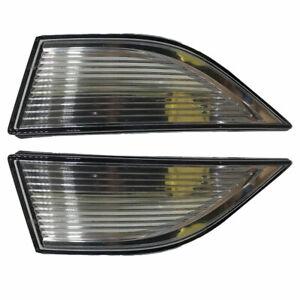 🔥 Set of 2 Front Fog Lamp Light Trim for VW Volkswagen Passat 2012-2015 🔥