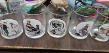 Norman rockwell glassware collection