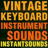 VINTAGE KEYBOARD Instrument SOUNDS Reason NNXT Akai AKP Kontakt NKi Samples Wav