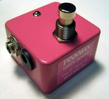 Henretta Engineering - Pinkman Dirty Boost Guitar Pedal - Authorized Dealer