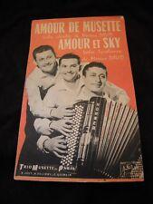 Partition Amour de Musette Marius David Amour et Sky Music Sheet