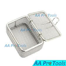 Micro Mesh Tray Autoclave Sterilizer 7 x 5 x 3 Cm Perforated Mesh Box DN-372