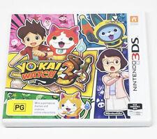 *Yokai Watch 3 Nintendo 3DS Game Very Rare Hard to find*