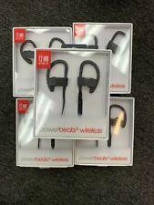 Beats by Dr. Dre Powerbeats3 Wireless Ear-Hook Headphones - Black Authentic 100%