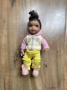 African American Barbie Happy Family Neighborhood Toddler Nikki
