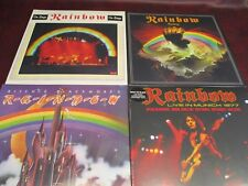 RAINBOW RICHIE BLACKMORE RISING & ON STAGE LIMITED EDITION COLORED VINYL 6 LP'S