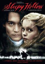 Brand New DVD Sleepy Hollow (1999) Johnny Depp Christina Ricci Miranda Richard