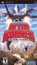 BRAND NEW SEALED PSP COMBAT -- After Burner: Black Falcon (Sony PSP, 2007)
