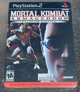 Mortal Kombat Armageddon - Premium Edition [PS2] - BRAND NEW & FACTORY SEALED!
