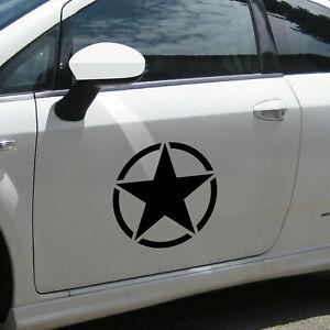 30cm Matte Black USA US Stern Car Jeep Sticker Tattoo Film Car Sticker
